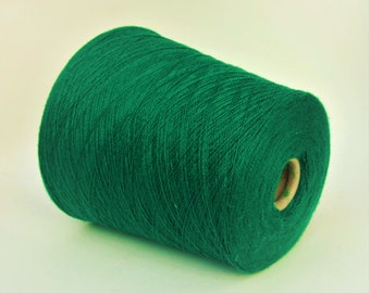100% baby cashmere yarn on cone, per 500g