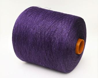 100% linen yarn on cone, 900g