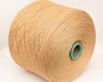 100% wool merino yarn on cone for knitting, weaving, crochet, per 100g