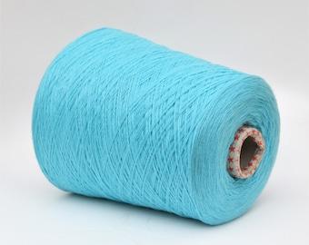 100% baby cashmere yarn on cone, per 100g