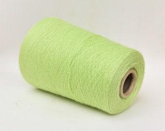 100% royal baby alpaca lace weight yarn on cone, knitting yarn, weaving yarn, crochet thread
