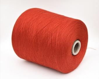 100% wool merino extrafine yarn on cone, per 100g