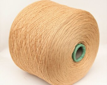 100% wool merino yarn on cone for knitting, weaving, crochet, per 900g