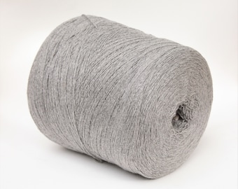 Chinchilla/cashmere yarn on cone, knitting, weaving and crochet yarn, per 100g