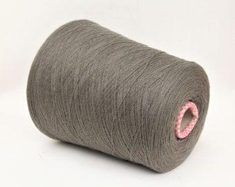 Cashmere/wool merino yarn on cone, per 900g