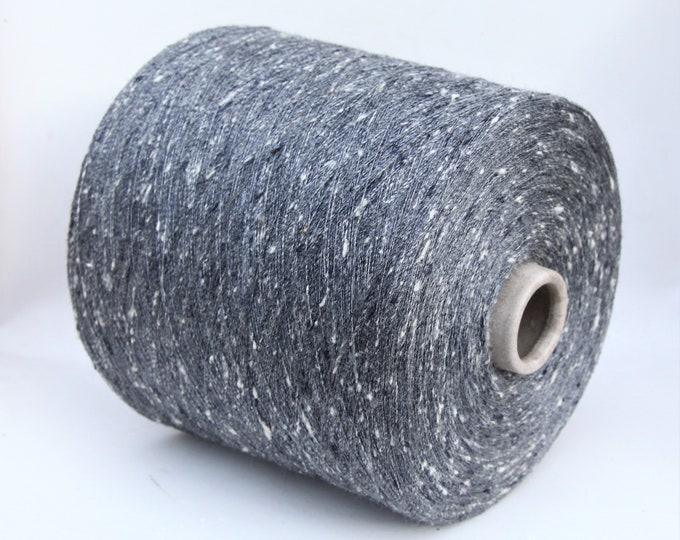 100% tussah silk yarn on cone, 900g cone