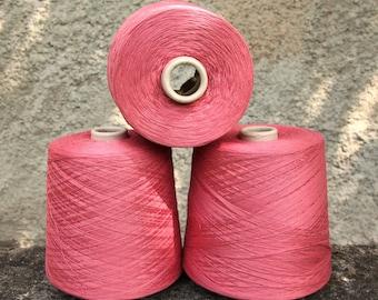 100% cotton yarn on cone, 4kg lot