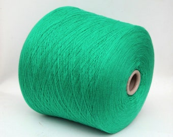 100% baby cashmere yarn on cone, per 500g