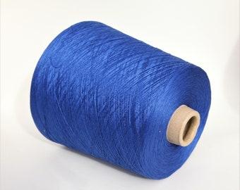 100% cotton yarn on cone, per 100g