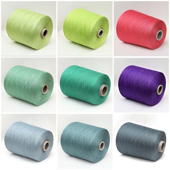 100% linen lace weight yarn on cone, knitting yarn, weaving yarn, crochet thread