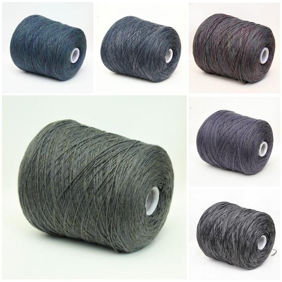 100% wool merino yarn on cone, space dyed yarn, variegated sock yarn, sport weight yarn for knitting, weaving and crochet, 900g cone