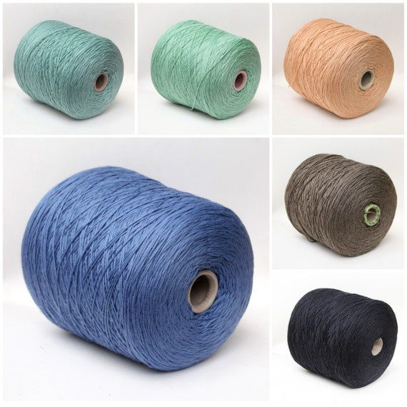 100% wool merino yarn on cone, sport weight yarn for knitting, weaving and crochet, per 100g