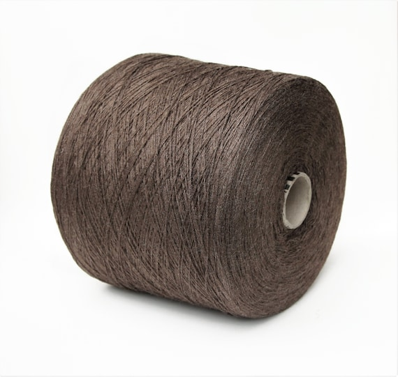 100% tussah silk yarn on cone, lace weight yarn for knitting, weaving and crochet, 900g cone