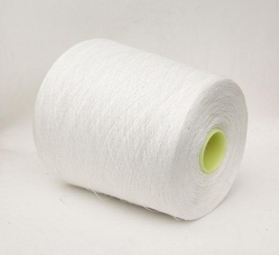 100% linen yarn on cone, italian linen yarn, lace weight yarn for knitting, weaving and crochet, per 100g