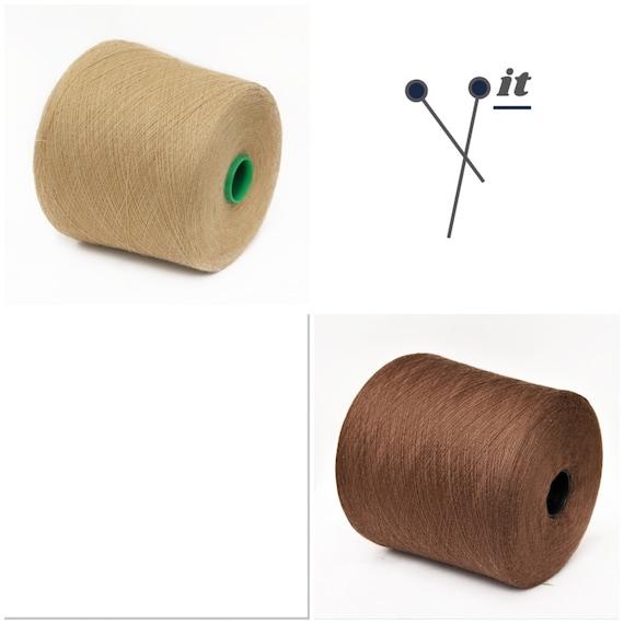 100% wool merino yarn on cone, lace weight knitting yarn, weaving yarn, crochet yarn, per 100g