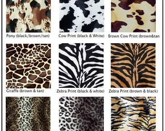 Animal Print Bumperless Baby Bedding Set Zebra Leopard Giraffe Cowhide Western and Safari Crib Rail Cover Bumperless Set