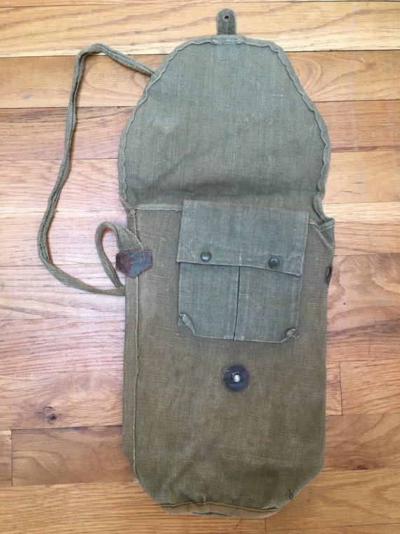 Vintage 1930's-40's Military Shoulder Bag