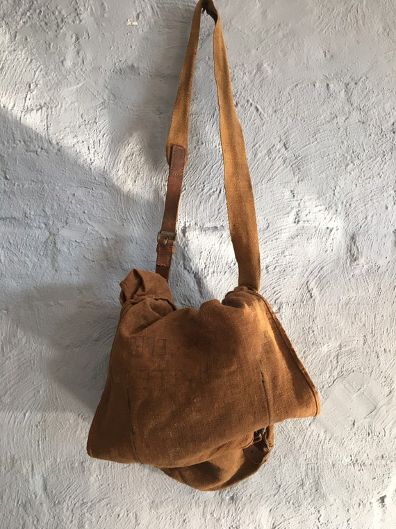 Vintage 1930s-40s Military Messenger Bag