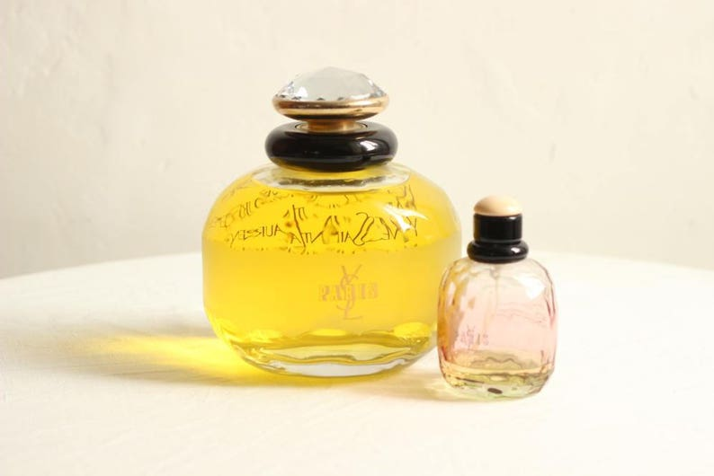 Époque Saint Glass Display Bottleshop Bottle Giant French Vintage Laurent 1980's Yves Paris Factice Perfume 8nw0mN
