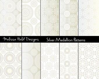 Silver Medallion Patterns