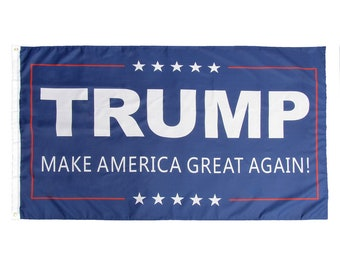 3' x 5' Trump Flag - Make America Great Again - Donald For USA President - US