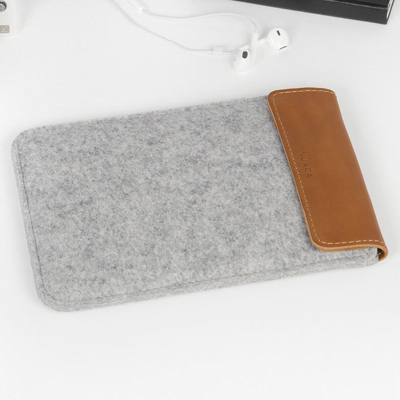 47648b3e20 Etui iPad Feutre et Cuir Etui pour iPad Mini Pochette | Etsy