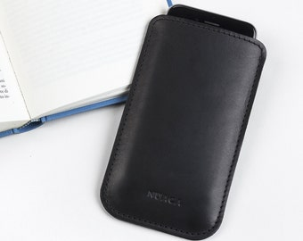 Leather Sleeve iPhone 5s - iPhone Case - iPhone Cover - iPhone 5 Leather - iPhone Sleeve - Cell Phone Case