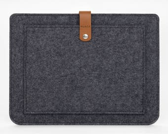 iPad Pro Sleeve - iPad Pro Case - iPad 12,9 Cover - iPad Pro Leather - Felt Case iPad
