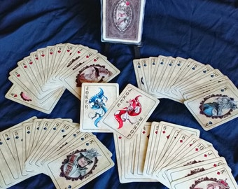 Final Fantasy IX Playing Cards - Vintage Inspired Watercolor Art