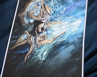 """Protoss Adept Prints 11"""" x 17"""""""