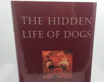 The Hidden Life of Dogs, Dog Lover Gift, Vintage Dog Books, Elizabeth Marshall Thomas, Dog Behavior Book, Animal Books, Animal Lover Book