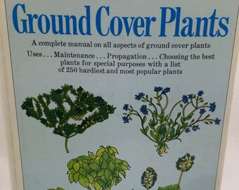 Ground Cover Plants, Gardener Gift, Landscaping Book