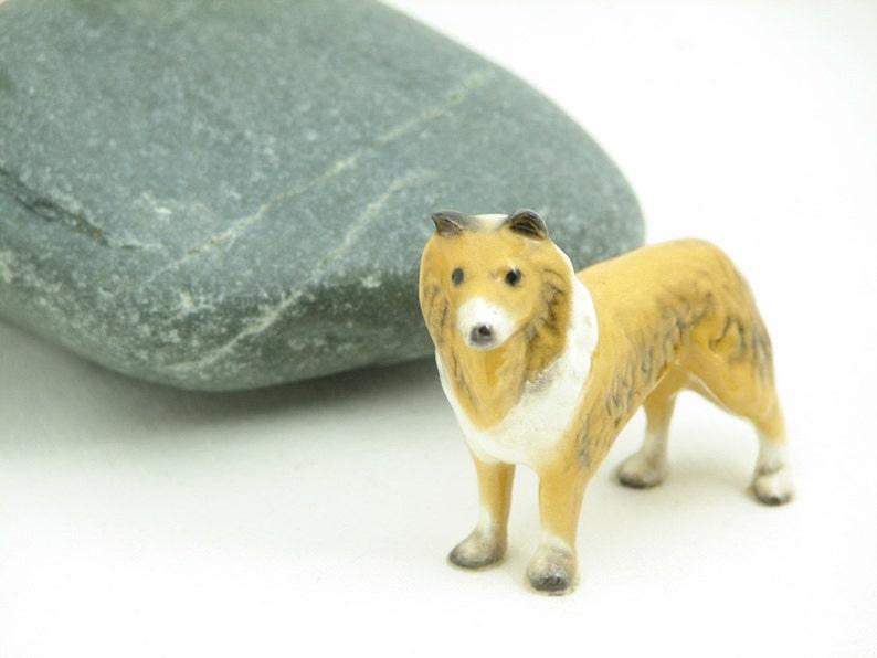 Older Hagen Renaker Collie Dog