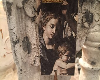 Prières au Paradis - Prayers To Heaven / Bookmark / Candle Wrap / Door Hanger