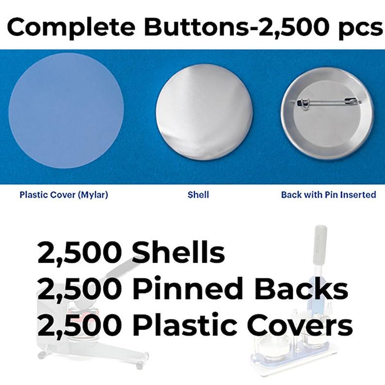 """BAM 1000 Tecre 1 1//4/"""" Badge-a-Minit Size Pinback Button Sets"""