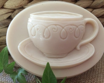 """Goat's Milk and Shea Butter Soap """"Tea Cup"""""""
