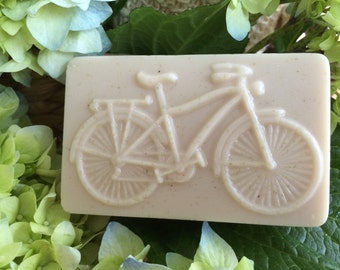"""Goat's Milk and Shea Butter Soap """"Bicycle"""""""