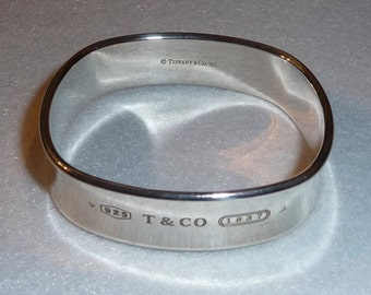 Bracelet. Tiffany and Co. Silver. Vintage.
