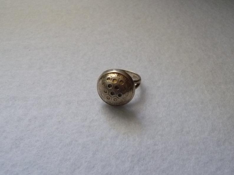 Finland Ring Vintage. Silver Erik Granit