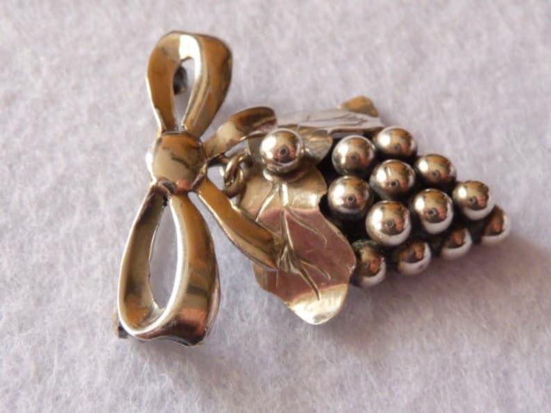 Carl Ove Frydensberg Denmark Silver Brooch Vintage.