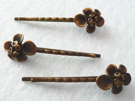 Hannu Ikonen (Finland). Bronze Hairpins. Vintage.