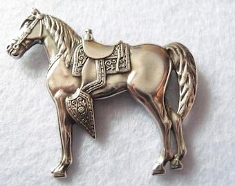 Silver Brooch. Vintage.