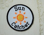 Embroidered weather merit...
