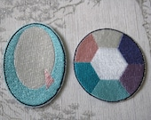 Steven Universe Opal embroidered iron on patch.