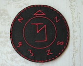 Supernatural Angel banishing sigil patch