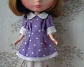 Blythe puffed sleeved pur...