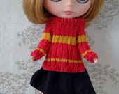 Blythe House pride jumper sets: Red and Gold.