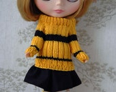 Blythe House pride jumper sets: Yellow and Black