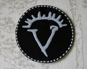 Supernatural Horn of Gabriel iron on patch.