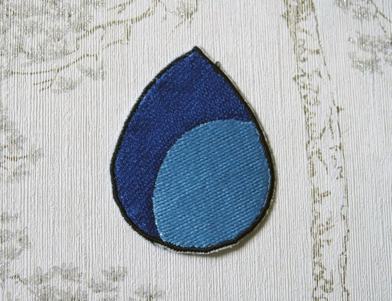 Steven Universe Lapis Lazuli Embroidered Iron On Patch Etsy